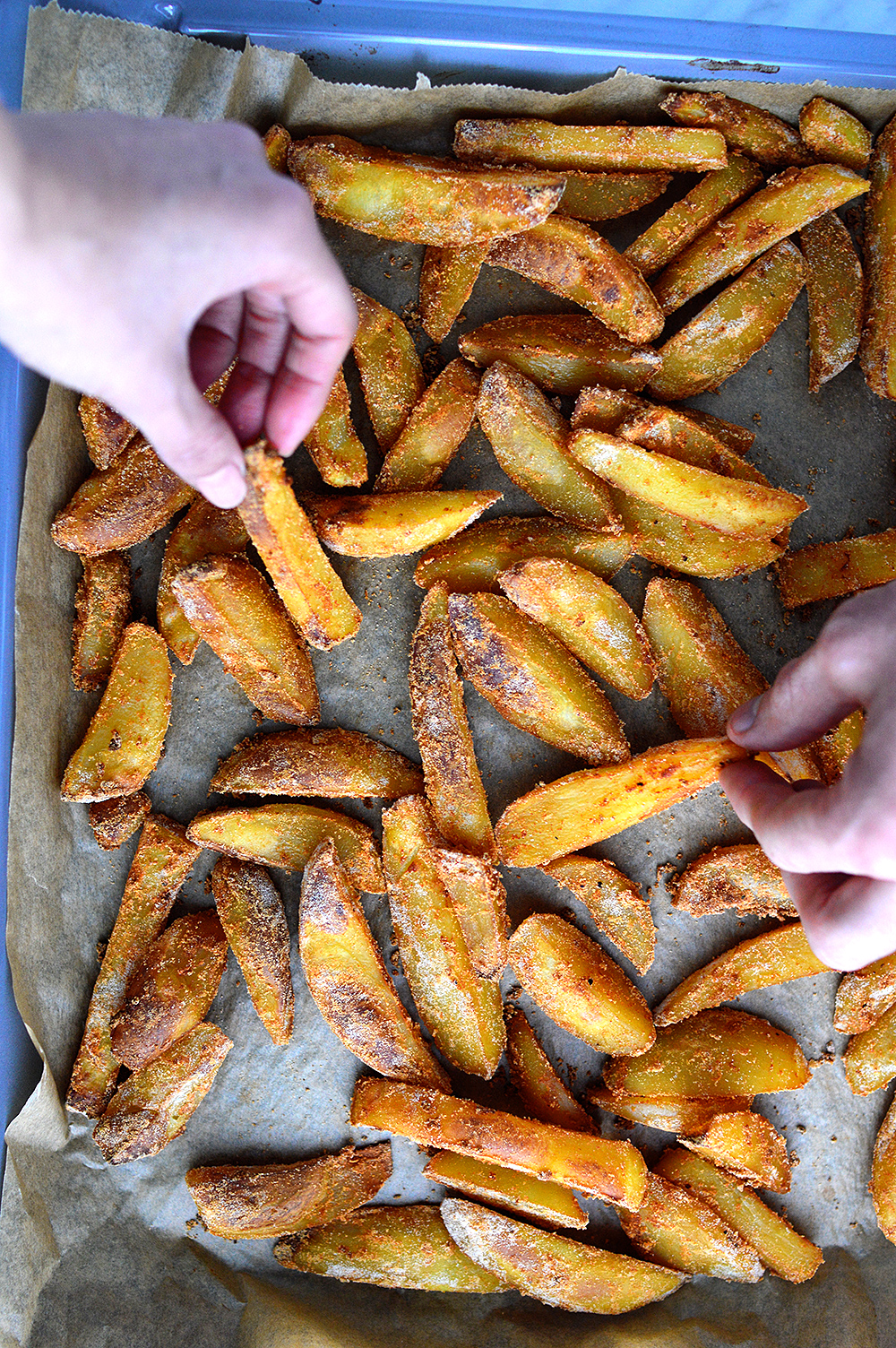 Oil-Free Crispy Frech Fries