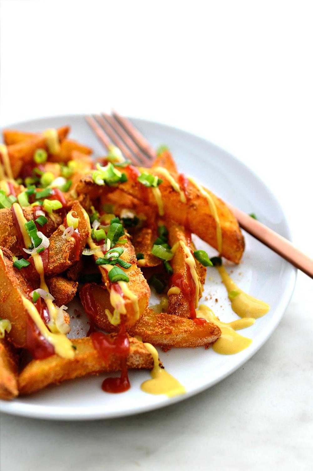 Crispy Oil-Free French Fries