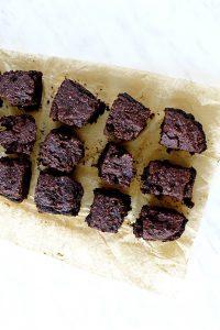Oil Free Vegan Chocolate Pumpkin Brownies